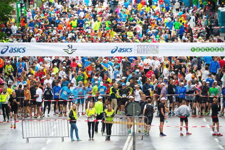 Starting a Marathon